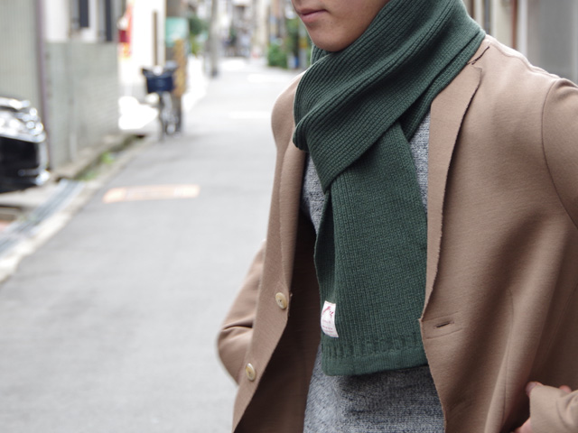 KNITTED_SCARF_FORESTGREEN